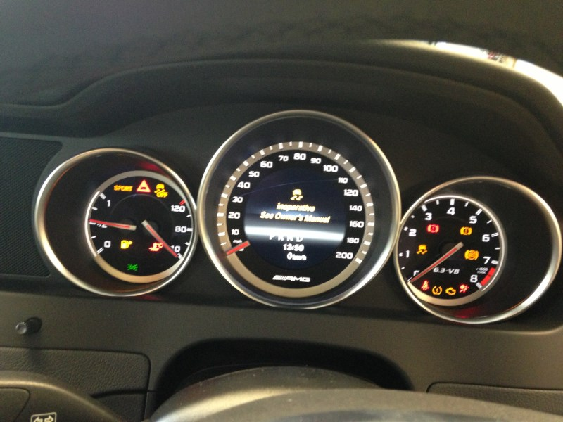 2013 a180 (blueefficiency se) inoperative / safe functions limited.